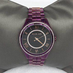 Michael Kors Women's Lauryn Watch/Plum
